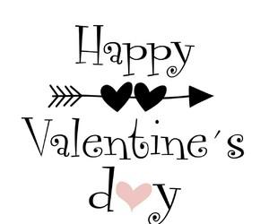 happy, valentine, and Valentine's Day image