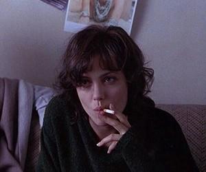 Angelina Jolie, cigarette, and smoking image