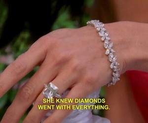 aesthetic, diamonds, and Valentine's Day image