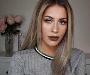 beauty, internet famous, and makeup image