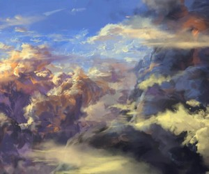art and clouds image