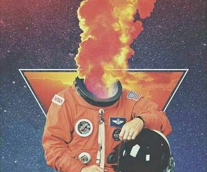 astronaut, space, and alternative image