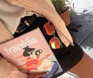 fashion, tumblr, and magazine image