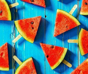 background, cool, and watermelon image