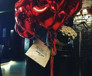 balloons, love, and beautiful image