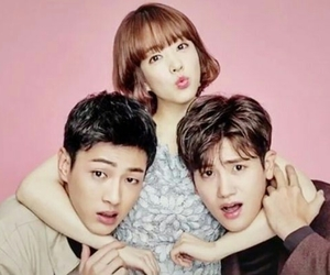 kdrama, strong woman, and hyungsik image