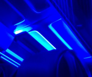 blue, lamp, and neon image