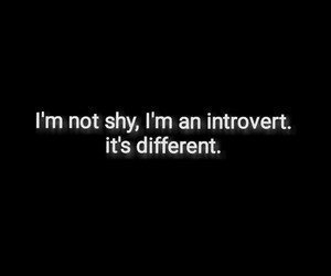 alone, depression, and introvert image