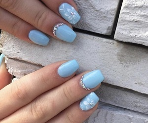 nails, nails polish, and nails art image