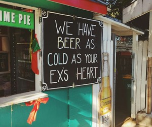 beer, ex, and quotes image