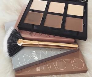 makeup, beauty, and contour image