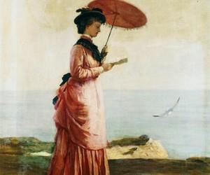 umbrella, gemälde, and book image
