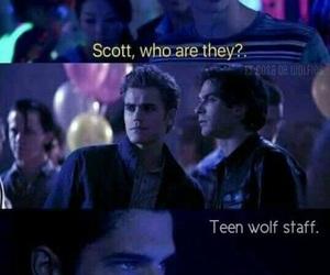 the vampire diaries, teen wolf, and scott image