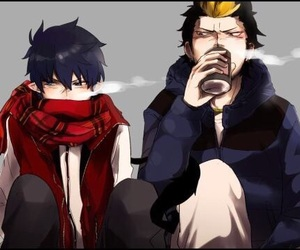 ao no exorcist, rin okumura, and blue exorcist image