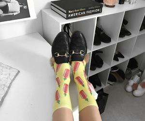 fashion blogger, sriracha, and socks image