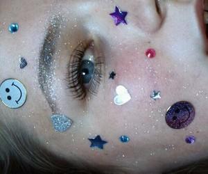 grunge, pale, and glitter image