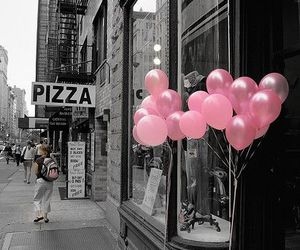 balloons, pink, and photography image