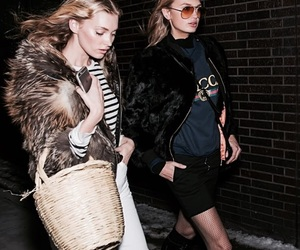elsa hosk, fashion, and romee strijd image