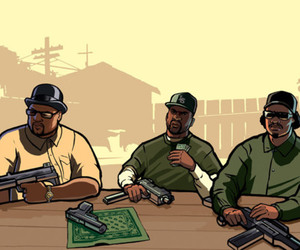 grand theft auto, gta, and san andreas image