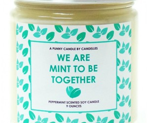 candle, fun, and mint image