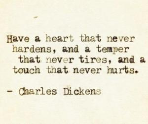 quotes, heart, and charles dickens image