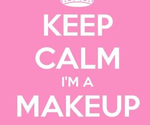 i love, passion, and makeup image