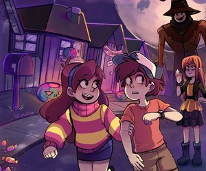 Halloween and gravity falls image