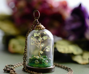 bonsai, etsy, and tree image