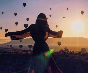 be free, free people, and landscape image