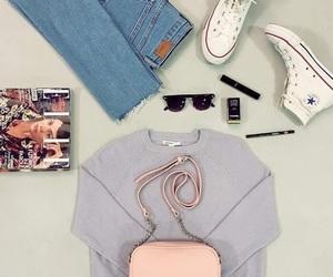 Elle, handbag, and summer image