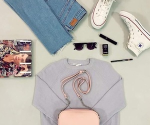Elle, handbag, and shoes image