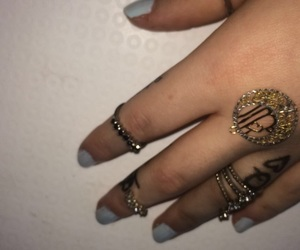 arabic, gold, and tattos image
