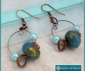 etsy, ooak, and turquoise earrings image