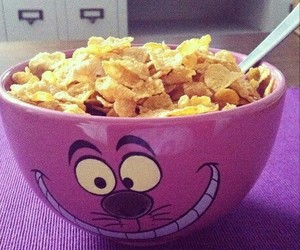 bowl, cereal, and breakfast image