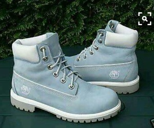 timberland, boots, and blue image
