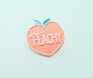 pastel, peachy, and pin image