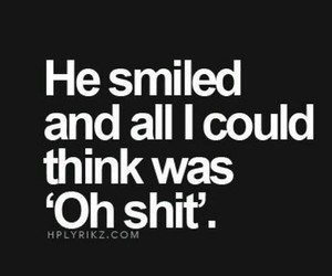 quotes, smile, and he image