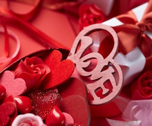 valentin's day and love image