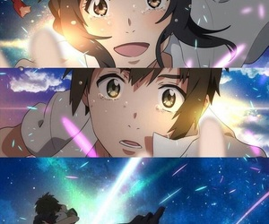 anime, love, and kimi no na wa image