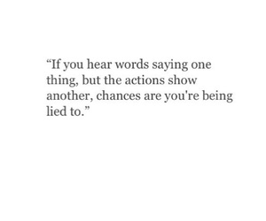 lied, lies, and quote image