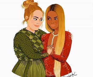 Adele and beyoncé image