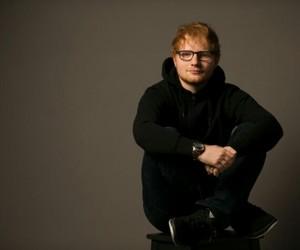 ginger hair, ed sheeran, and hipster image