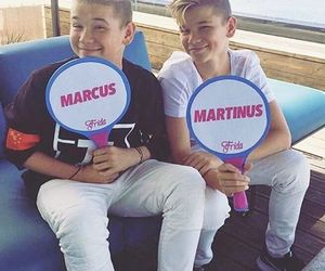 m&m, twins, and marcus & martinus image