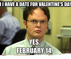 funny, valentine, and date image