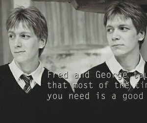 harry potter, Fred, and fred weasley image
