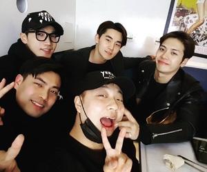 2PM, jackson, and jun k image