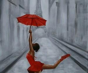 art, ballet, and paris image