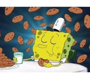 Cookies, spongebob, and food image