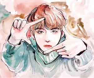 fanart, bangtan, and bts image