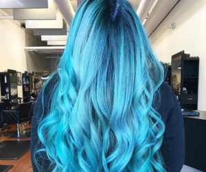 hair, colors, and hair style image